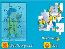 Caillou Puzzle
