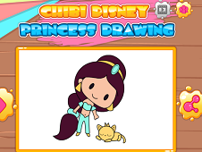 Chibi Disney Princess Drawing