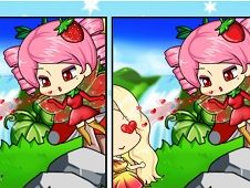 Spot the Difference Chibi Fairy Girl