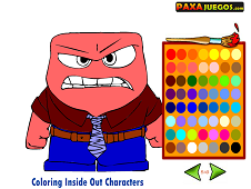 Coloring Inside Out Characters