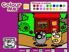 Colour Me Fluffy Garden