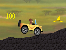 Curious George Car Driving Challenge