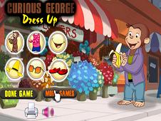 Curious George Dress Up