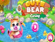 Cute Bear Caring