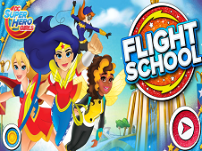 Dc Superhero Girls Flight School - Dc Super Hero Girls Games