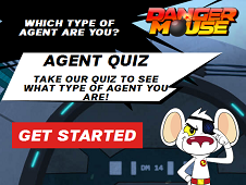 Danger Mouse Agent Quiz