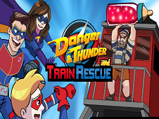 Danger and Thunder Train Rescue