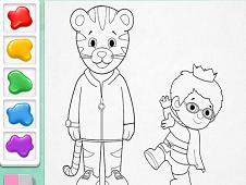 Daniel Tiger Coloring