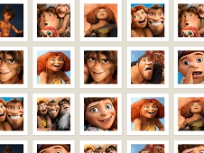 Dawn of the Croods Memory Game