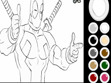 Deadpool Coloring