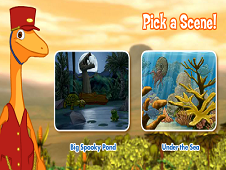 Dinosaur Train Hidden Objects