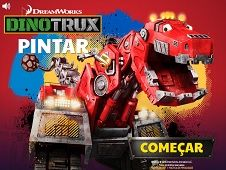 Dinotrux Coloring