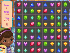 Doc McStuffins Jewel Match