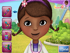 Doc Mcstuffins Face Art
