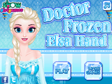 Doctor Frozen Elsa Hand