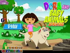 Dora And Baby Animal Adventure