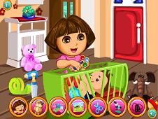 Dora Babysitter Slacking