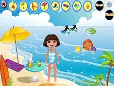 Dora Beach Day