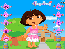 Dora Vacations Dress Up