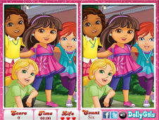 Dora and Friends 6 Diff