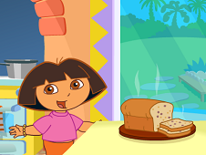 Dora in The Kitchen