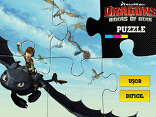 Dreamworks Dragons Puzzle
