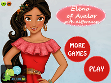 Elena of Avalor - Differences