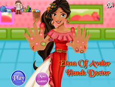 Elena of Avalor Hand Doctor