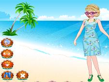 Elsa At The Beach