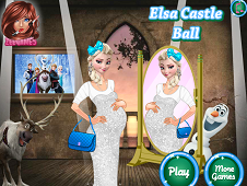 Elsa Castle Ball