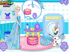 Elsa Dirty Laundry