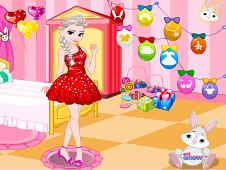 Elsa Easter Dress Up