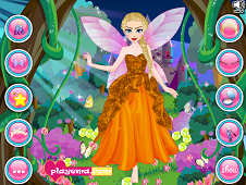 Elsa Fairy Dress Up