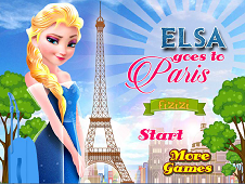Elsa Goes To Paris