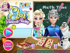 Elsa Homework Slacking