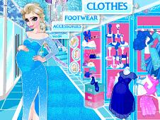 Elsa Pregnant Shopping 2