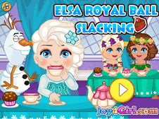 Elsa Royal Ball Slacking