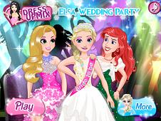 Elsa Wedding Party 2