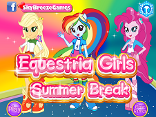 Equestria Girls Summer Break