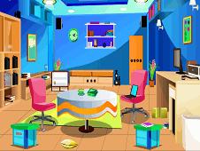 Escape From Blue Livingroom