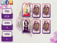 Ever After High Memory Cards