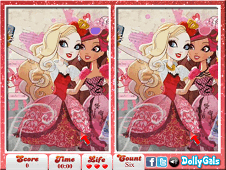 Ever After High Selfie 6 Diff