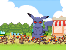 Evil Pikachu Rampage