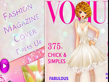 Fashion Magazine Cover Dress Up
