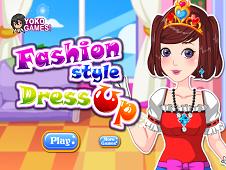 Fashion style dress up