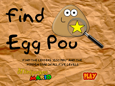 Find Egg Pou