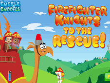 Firefighter Knights to The Rescue