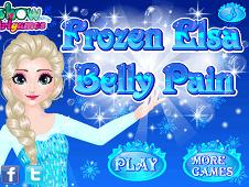 Frozen Elsa Belly Pain
