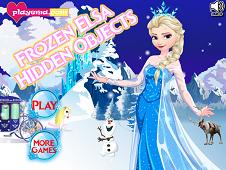 Frozen Elsa Hidden Objects