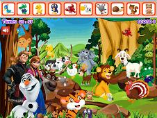 Frozen Forest Animals